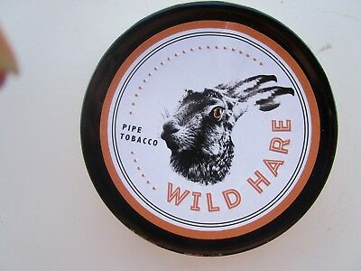 SEALED LANE LTD WILD HARE Pipe Tobacco Tin (COLLECTABLE) Holds 50 Grams
