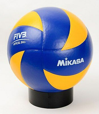 Mikasa Volley Ball MVA390 Volleyball Leather Cover Size 5 Sports Accessories New