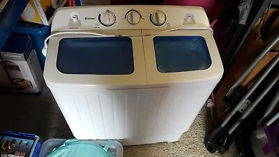 300W 5KG Portable Mini Compact Twin Tub Washing Machine Washer Spin Dryer