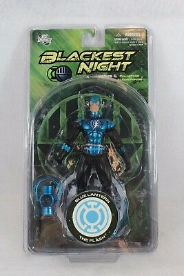 DC Direct Blackest Night Blue Lantern FLASH Series 6 Action Figure
