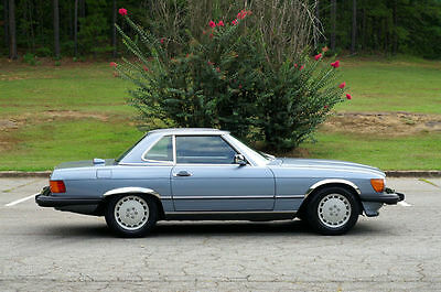 1986 Mercedes-Benz SL-Class Roadster Great condition, low miles, clean title, clean Carfax