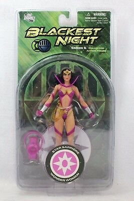 DC Direct Blackest Night Star Sapphire WONDER WOMAN Series 6 Action Figure