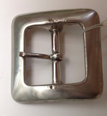 Square Open Frame Belt Buckle Vintage American Retro Classic