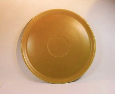 Large Alfred Meakin Glo-White Ironstone Orange/Mustard Colour Platter