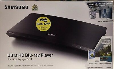 Samsung UBD-9000 Ultra HD Blu-Ray Player (4K UHD Blu Ray) - New and Sealed