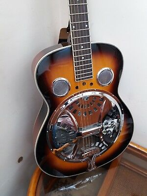 RARE (CORT) DOBRO RESONATOR  ACOUSTIC GUITAR  ( With a case too )