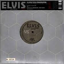 "Elvis Presley a little less conversation ltd & numbered 10"" vinyl"