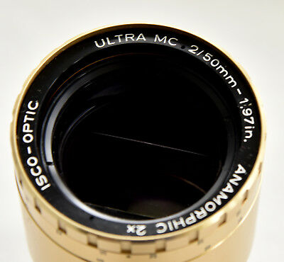 Isco Ultra multicoated 50mm f2 anamorphic lens