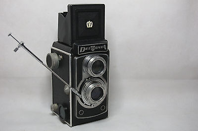Montanus (Potthoff) Delmonta 120mm TLR Camera with Shutter Cable (Rare)