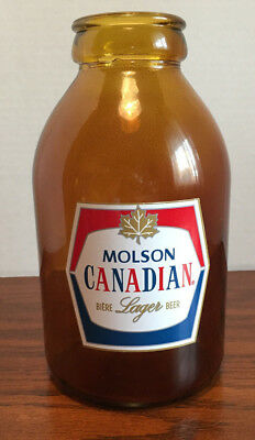 Molson Canadian X-Large Blown Up Stubby Bottle Home Bar Man Cave