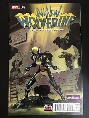All New Wolverine #2 Cover by Bengal! 1st Gabby Appearance! First Printing! NM