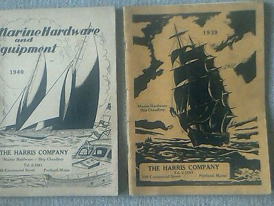 Vintage Maritime Hardware Booklets. (1939 And 1940)