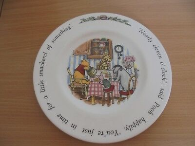 Winnie The Pooh Royal Doulton plate