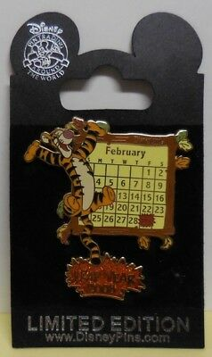 Disney Pin DLR Leap Year 2008 Tigger Pin LE2008 New