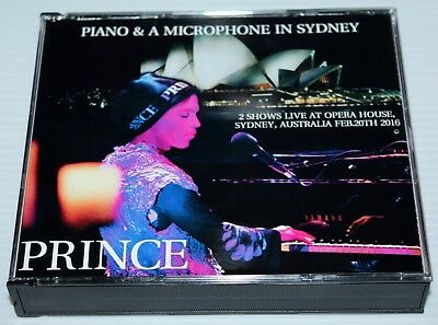 Prince - Piano & A Microphone Tour In Sydney - 3 Cd Set - Opera House - Npg
