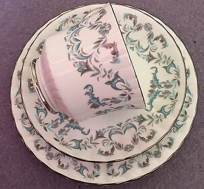Royal Stafford Harmony china trio - teacup, saucer, plate, Afternoon Tea, Party