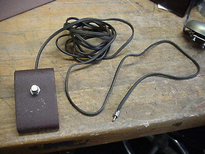 Vintage 1950s Gibson Amplifier footswitch NICE ONE    GA 40 / les paul amp