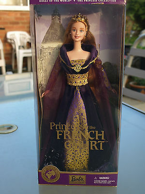 2000 Princess Of The French Court Dolls Of The World Barbie New In Box Nib