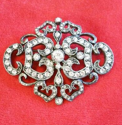 Jacqueline Kennedy Reproduction Camrose & Kross Pin Brooch signed JBK Collection