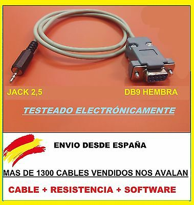 Cable Recuperacion Rs232 Error Ash  Engel Rs4800 + Soft + Ultimo Firmware.