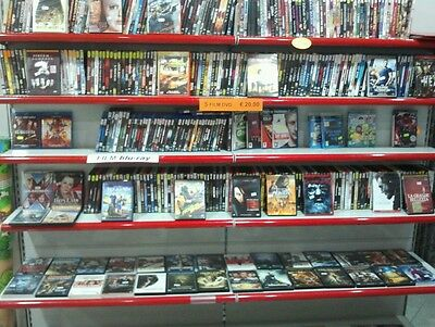 LOTTO di FILM DVD stock da 62 pezzi