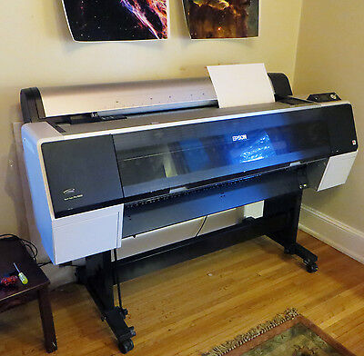 Epson Stylus Pro 9900 Large Format Poster Printer With Paper