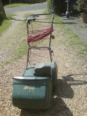 Atco Windsor 14s Electric Self-Propelled Cylinder Lawnmower