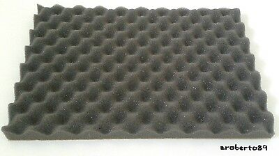 8 Tiles Acoustic Foam Panels Sound Treatment Convoluted Egg Profile