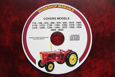 David Brown (Case) Workshop Service Repair Manual, 24  Models Covered In Manuals