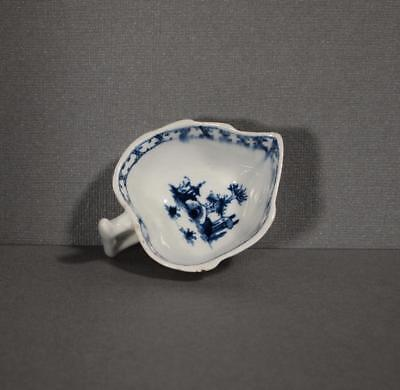 First Period 18th Century  Worcester or Caughley Pickle Dish
