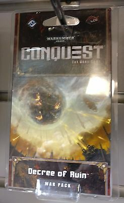 BoH Card Game CONQUEST Warhammer 40,000 DECREE OF RUIN War Pack Expansion LCG
