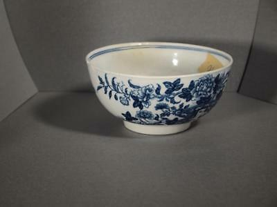 First Period 18th Century Worcester Bowl