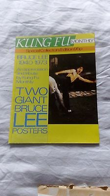 Bruce Lee Kung Fu Monthly Special Poster Magazine