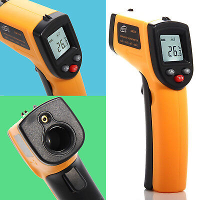 Infrared Digital Temperature Thermometer -50 °C to 330 °C BlueBeach Heat Gun
