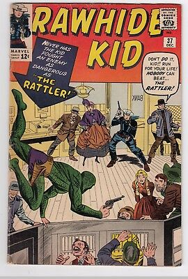 RAWHIDE KID #37 (1963)   LOW to MID GRADE     JACK KIRBY cover   DICK AYERS art
