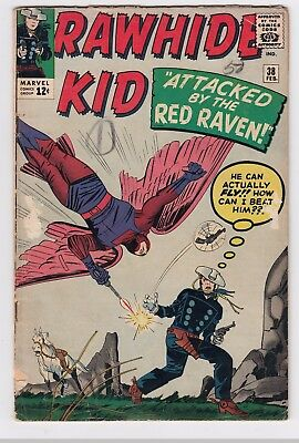 RAWHIDE KID #38 (1964)   LOW to MID GRADE     JACK KIRBY cover   DICK AYERS art
