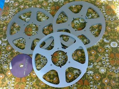 3 Quality NAB Spools in Perfect Condition