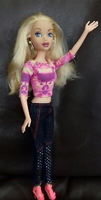Barbie My Scene First Edition Barbie doll. Redressed.
