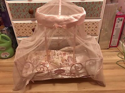 Baby Annabell Dolls Vintage Crib Cot - Canopy & Accessories Zapf Creation Bed