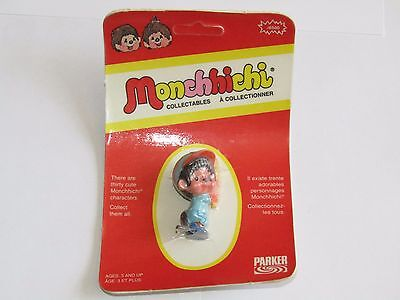 Vintage New 1974 Parker Monchhichi J6500 Baseball Batter-Up Sealed