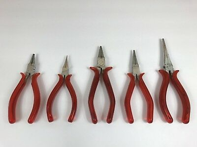 BELZER VANADIUM PLIERS LOT OF 5 - 2458, 2713, 2698, 2727, 2720 - Germany -