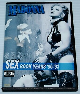 Madonna - 3 Dvd Set - Sex Book Years - 90 - 93 - Erotica - Girlie Show - Live