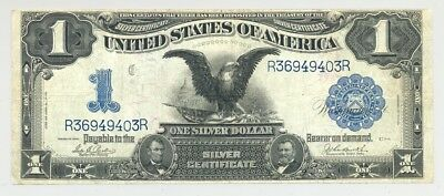 $1 Fr. 232 Series 1899 Silver Certificate, high grade and no problems