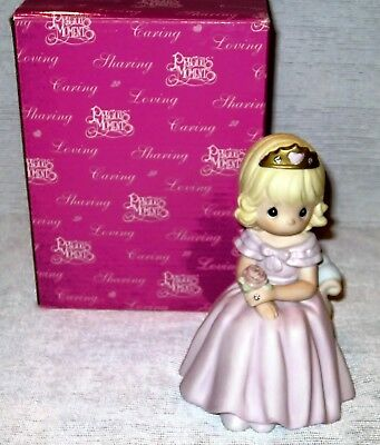"""Precious Moments """"Your Love Reigns Forever In My Heart"""" 4004985 Figurine 2005"""