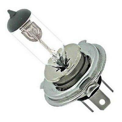 One - 6 Volt Halogen Headlight Headlamp Clear Glass Light Lamp Bulb 55/60W H4 6V