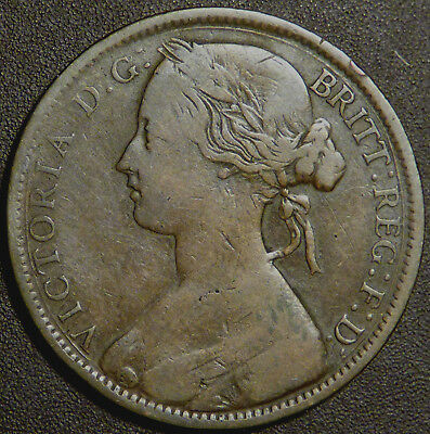 Great Britain Victoria 1861 One Penny