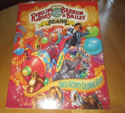 Ringling Bros. Barnum & Bailey Circus brought by Sears Unused ABC Colorin