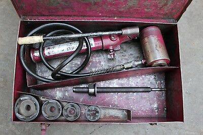 Enerpac Knockout Punch Set, Hydraulic knockout punch
