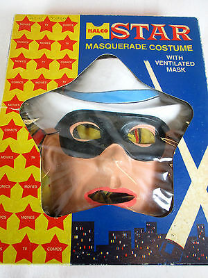 Vintage 1970 Halco Star The Lone Ranger child sized M Halloween costume