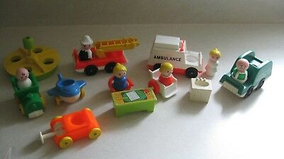 Vintage Fisher Price Little People Toys